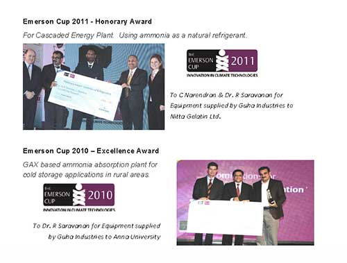 awards of Guha Industries